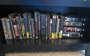 A lot of my history books here.