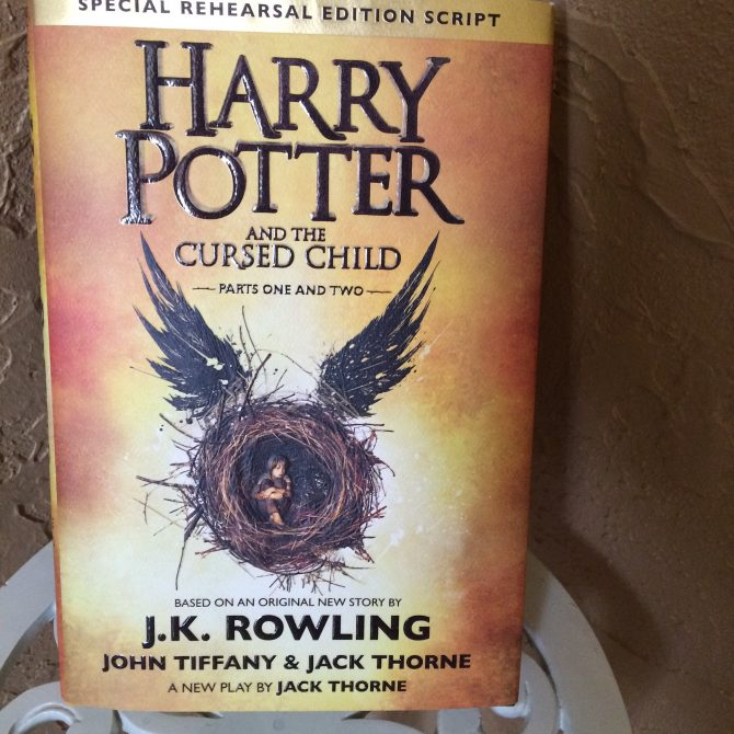REVIEW: Harry Potter and the Cursed Child by JK Rowling, John Tiffany, and Jack Thorne