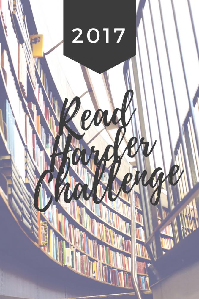 Read Harder Challenge 2017
