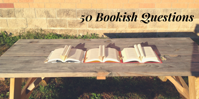 50 Bookish Questions