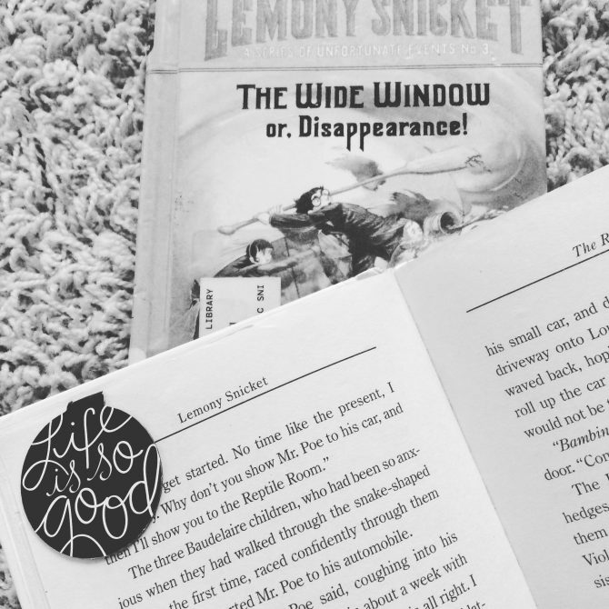 MINI REVIEW: The Reptile Room by Lemony Snicket