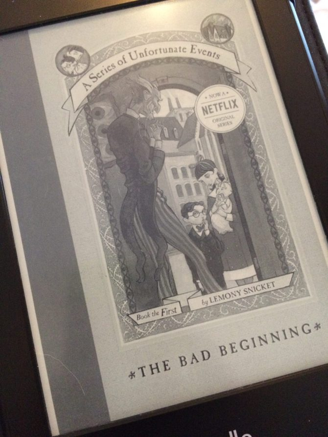 REVIEW: The Bad Beginning by Lemony Snicket