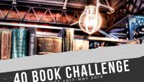 My 40 Book Challenge 2017-2018