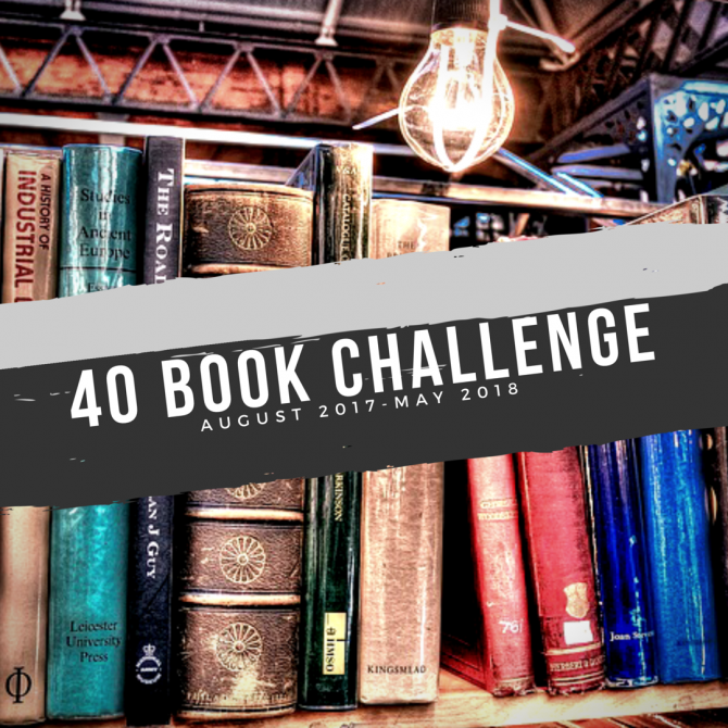 Reflection: 40 Book Challenge