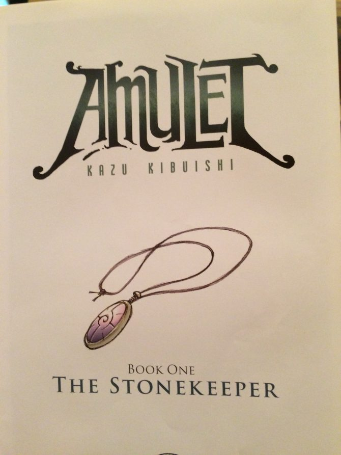 Mini Review: The Stonekeeper by Kazu Kibuishi