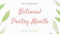 National Poetry Month April 2018