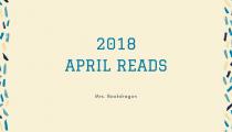 April 2018 Reads