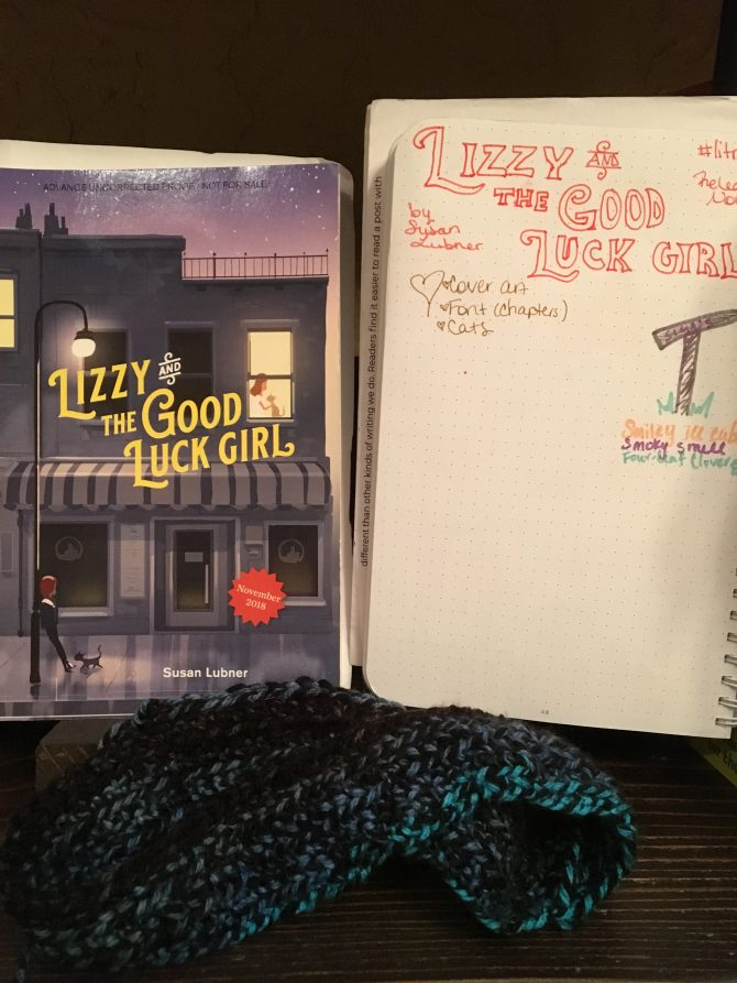 First Glance Friday: Lizzy and the Good Luck Girl by Susan Lubner