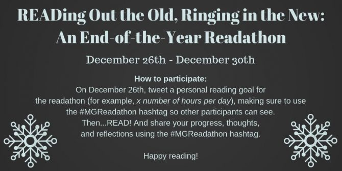 #MGReadathon December 2018