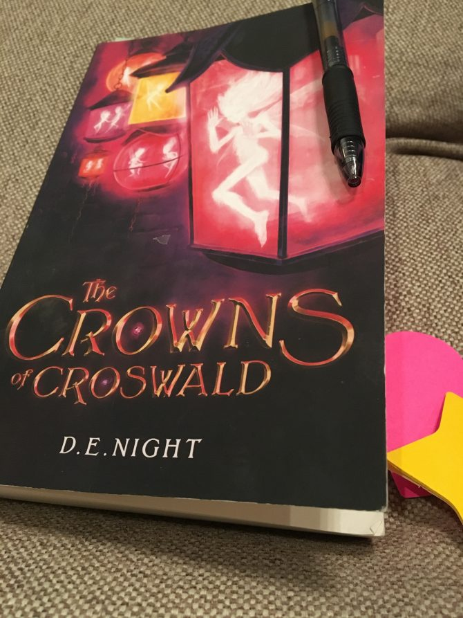 First Glance: The Crowns of Croswald by D. E. Night