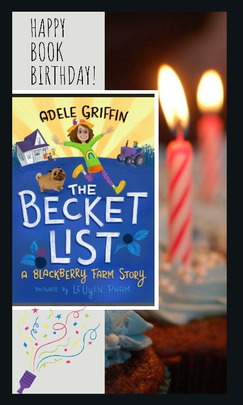Happy Book Birthday to Adele Griffin