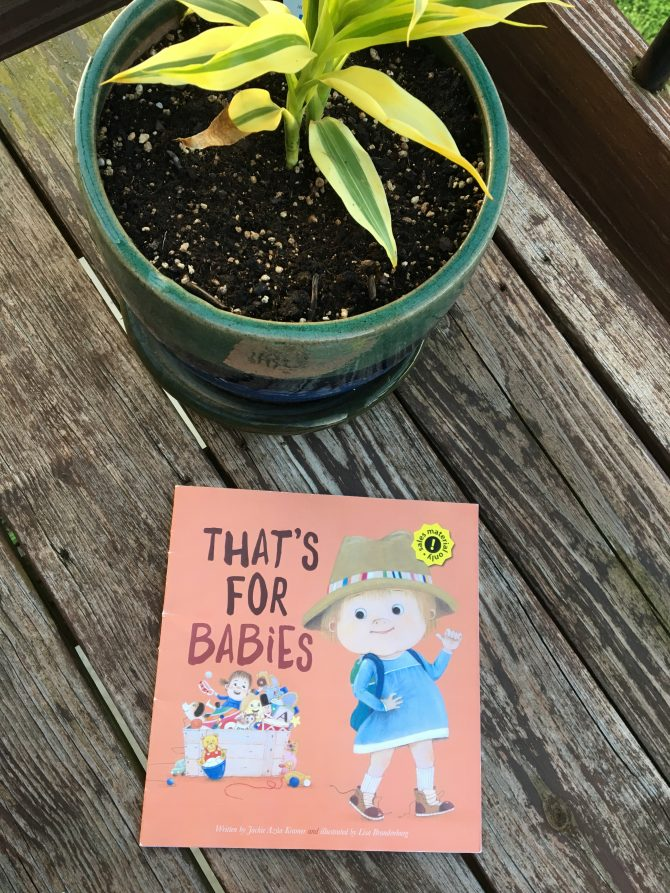 Mini Review: That's For Babies by Jackie Azua Kramer and Illustrated by Lisa Brandenburg