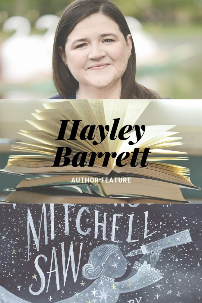 Author Feature: Hayley Barrett