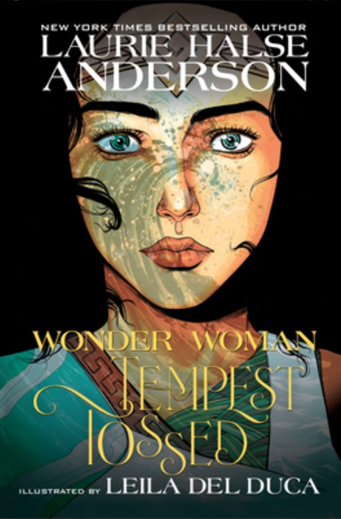 Virtual Tour for Wonder Woman: Tempest Tossed by Laurie Halse Anderson