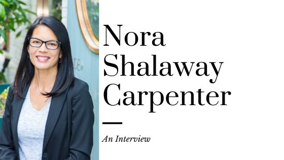 Nora Shalaway Carpenter and Her New Book, The Edge of Anything