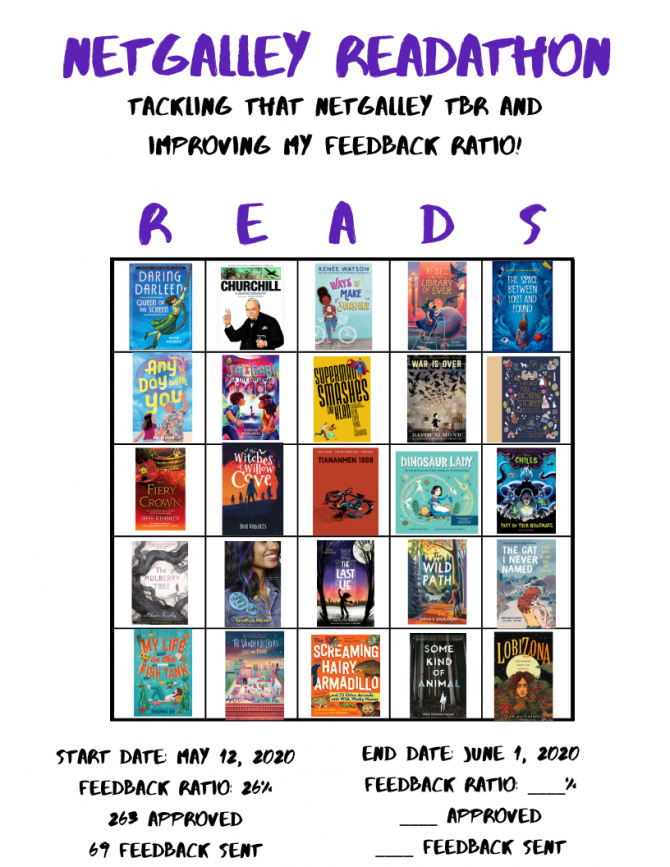 NetGalley Readathon-May 2020