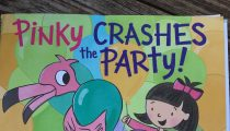 Picture Book Frenzy: Pinky Crashes the Party by Michael Portis and illustrated by Lori Richmond
