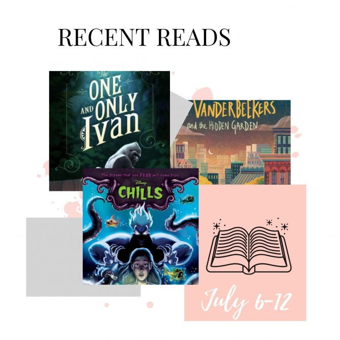 Recent Reads: July 6-12