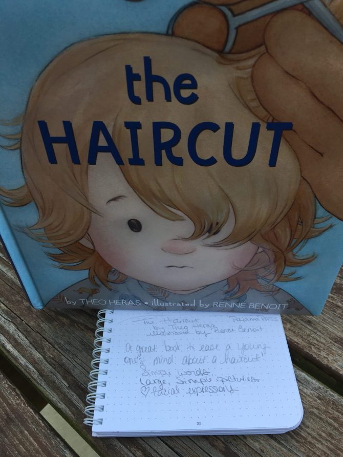 Picture Books Frenzy:  The Haircut by Theo Geras and illustrated by Renné Benoit