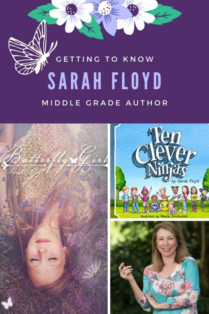 Getting to Know Author Sarah Floyd