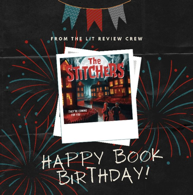 Happy Book Birthday to Lorien Lawrence and The Stitchers