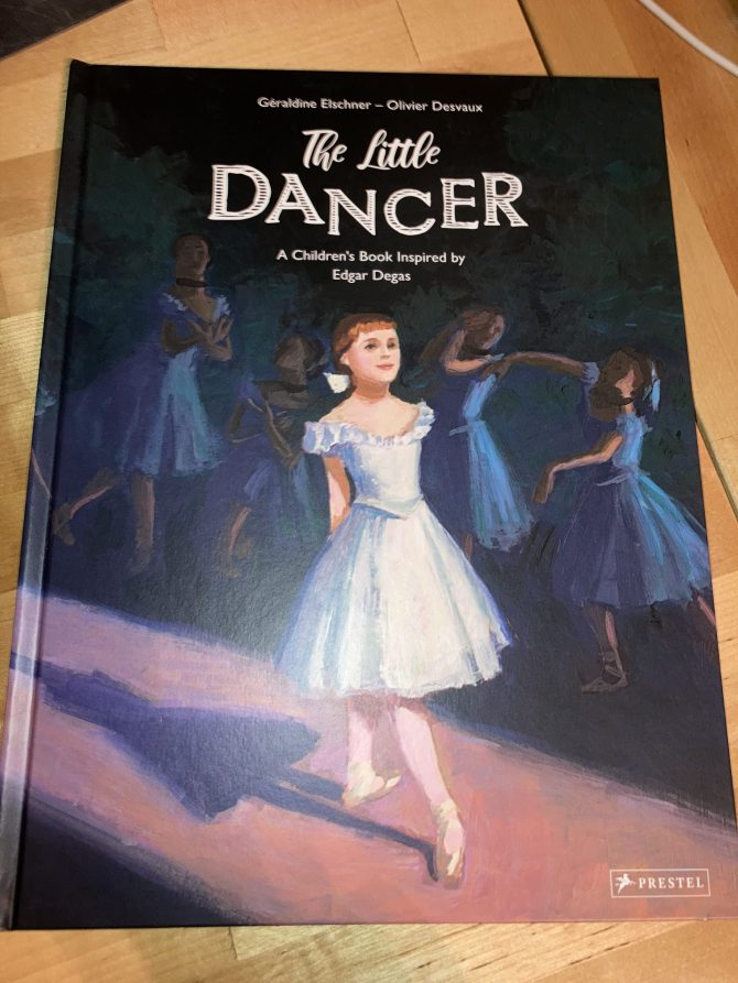 Labor Day Weekend Picture Book Frenzy Book 9: The Little Dancer by Géraldine Elschner