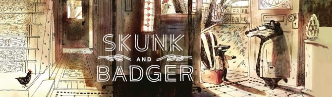 Skunk and Badger:  The Odd-Couple You Want To Meet