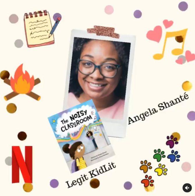 Legit Kid Lit Episode 3: Angela Shanté
