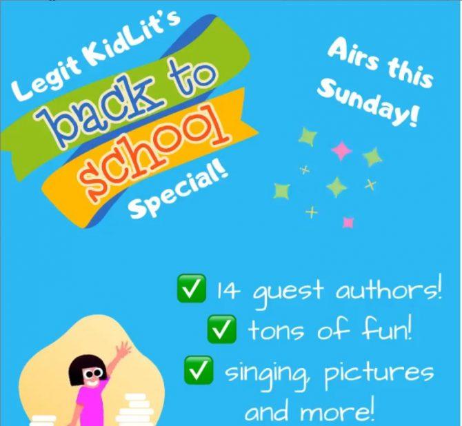 Legit Kid Lit Episode 4: Back to School Special