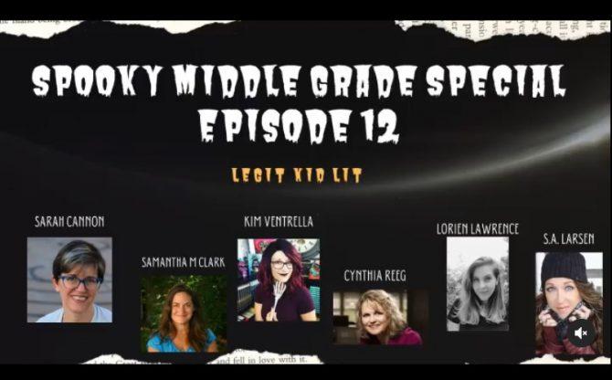 Legit Kid Lit Episode 12: Spooky MG Special