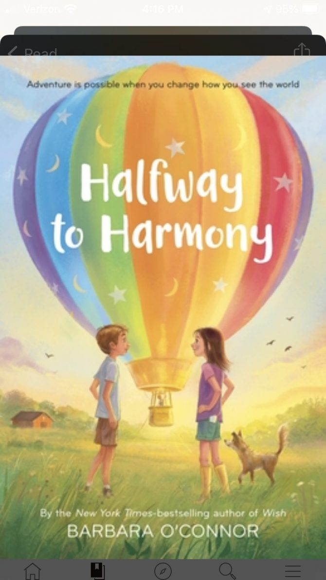 Halfway to Harmony by Barbara O'Connor