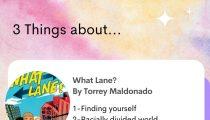 What Lane? By Torrey Maldonado