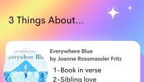 Everywhere Blue by Joanne Rossmassler Fritz