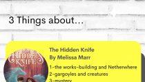 The Hidden Knife by Melissa Marr